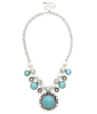 Sole Society Open Sea Statement Necklace