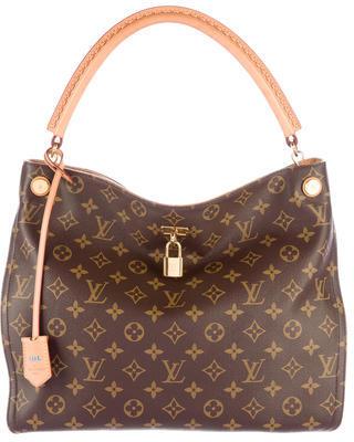 Louis Vuitton Monogram Gaïa Bag $2,200 thestylecure.com
