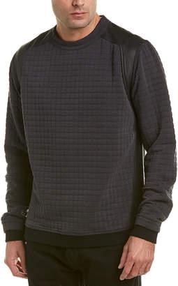 Quinn Herzfeld Leather-Trim Pullover