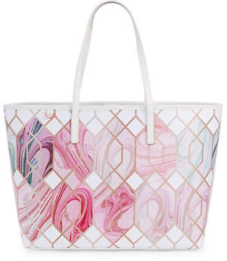Ted Baker Clouds Canvas Tote