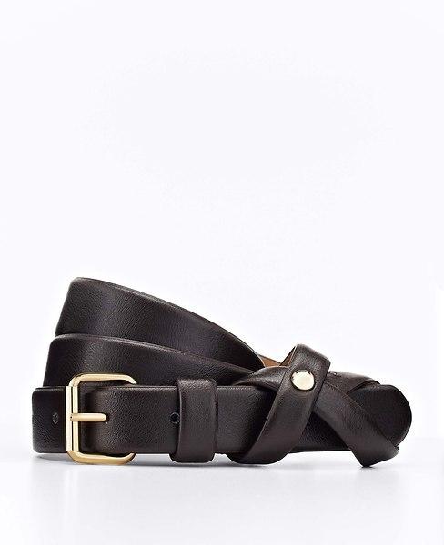 Ann Taylor Knot Leather Belt
