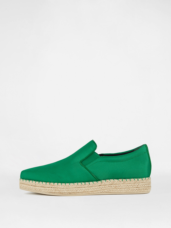 DKNY Trey Tech Nylon Slip On Espadrille