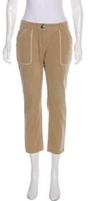 Celine Mid-Rise Cropped Pants