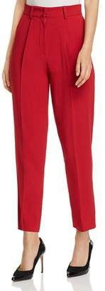 Emporio Armani Cropped High-Waisted Pants