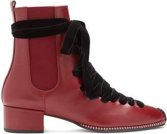 Altuzarra Leather chelsea boot