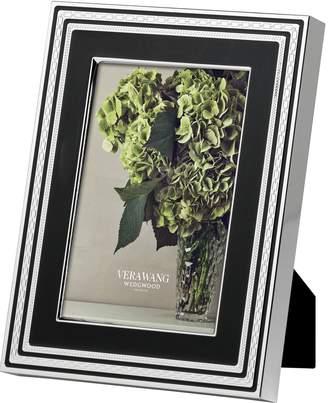 "Wedgwood With Love Noir Photo Frame (4"" x 6"")"