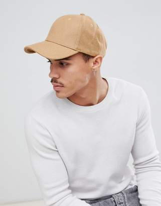 Selected Porter Baseball Cap In Wool Mix