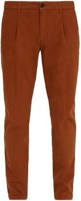 Altea Mid-rise slim-leg trousers