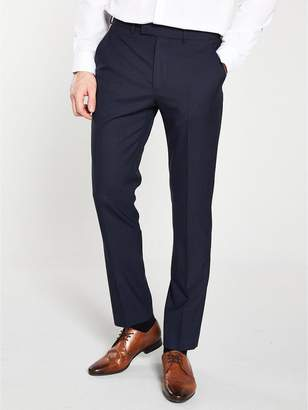 Sterling Check Suit Trouser - Navy