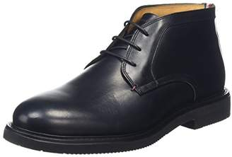 Tommy Hilfiger Men's A2285ustin 2aw Desert Boots, Black, (42 EU)