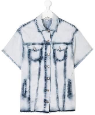 Goganga TEEN short-sleeve denim jacket