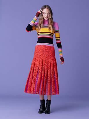 Diane von Furstenberg Gardena Lace Skirt