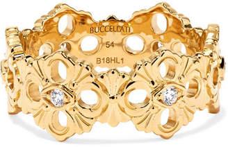 Buccellati Opera Eternelle 18-karat Gold Diamond Ring