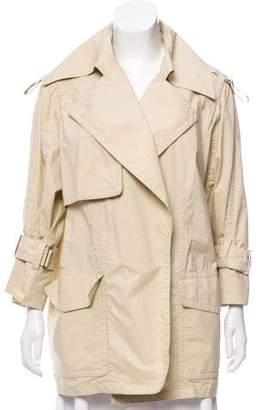 Kaufman Franco KAUFMANFRANCO Lightweight Notch-Lapel Coat