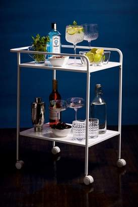 Next Marble Effect Drinks Trolley