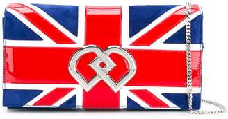 DSQUARED2 medium Union Jack DD crossbody bag