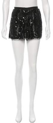 Gryphon Sequined Mini Skirt