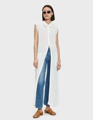 Farrow Velu Maxi Dress in White