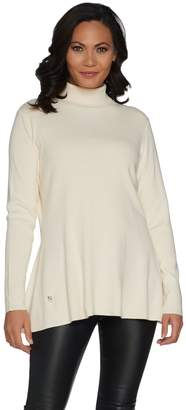Belle By Kim Gravel Belle by Kim Gravel Essentials Rayon Nylon Turtleneck