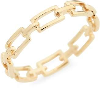 Bony Levy 14-Karat Gold Link Stacking Ring