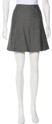 Barbara Bui Wool Mini Skirt