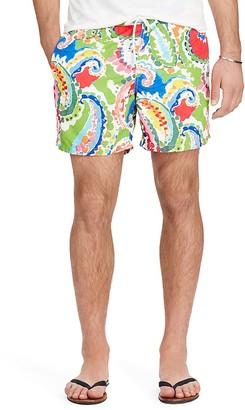 Polo Ralph Lauren Paisley Traveler Swim Trunk $95 thestylecure.com