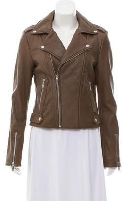 Rebecca Minkoff Leather Zip-Up Jacket