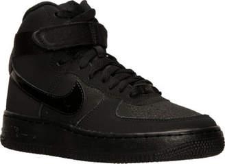 Nike Kids' Grade School Force 1 High Casual Shoes