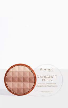 PrettyLittleThing Rimmel Radiance Medium Shimmer Brick Bronzer