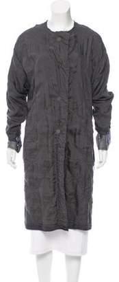 Lanvin Silk Quilted Coat
