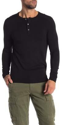 Quinn Henley French Terry Long Sleeve Shirt