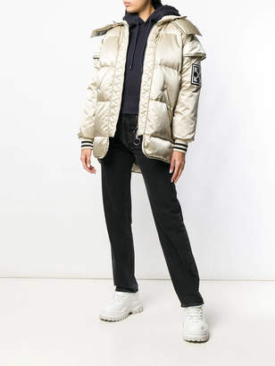 Off-White Off White Hooded padded jacket
