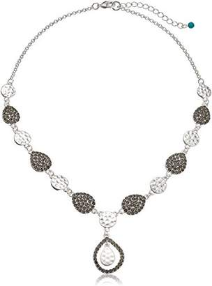 "Nine West Vintage America Silver-Tone and 16"" Y-Shaped Necklace"