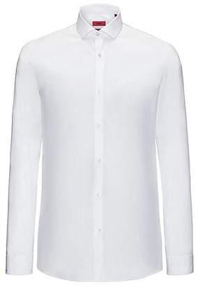 HUGO BOSS Slim-fit shirt in stretch cotton