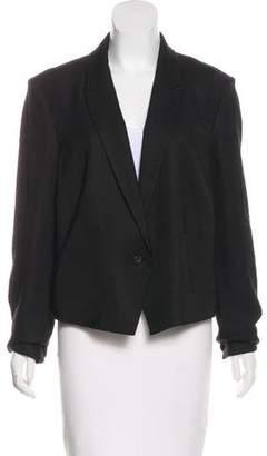 J Brand Notch-Lapel Long Sleeve Blazer