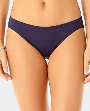 Anne Cole Studio Solid All-Day Bikini Bottoms Women's Swimsuit