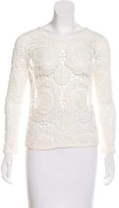 Diane von Furstenberg Crochet Nola Top