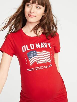 Old Navy Maternity 2019 Flag Graphic Tee
