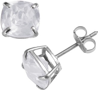 Kohl's Sterling Silver Lab-Created White Sapphire Stud Earrings