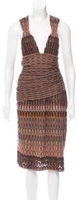 Missoni Abstract Racerback Dress
