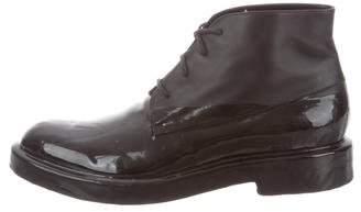 Balenciaga Round-Toe Chukka Boots