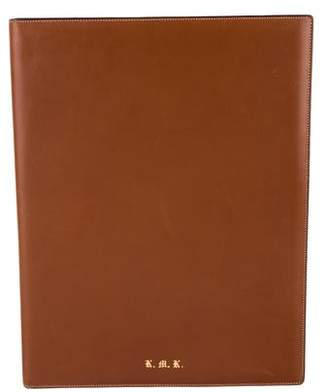Gucci Leather Notepad Portfolio