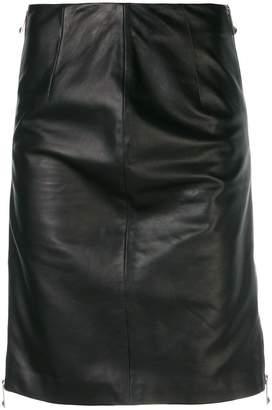 John Richmond fitted midi skirt