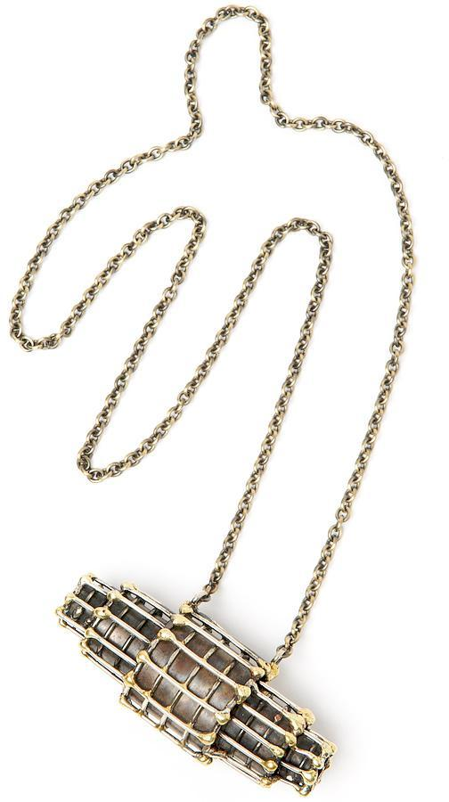 Anndra Neen Capsule Cage Necklace