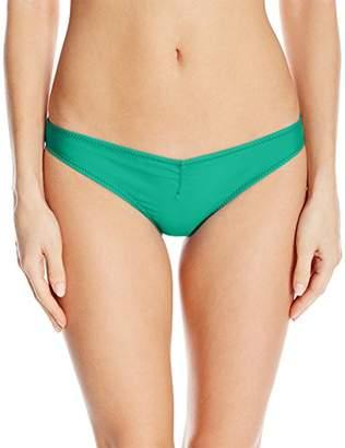 Volcom Women's Simply Solid V Beach Pant Bikini Bottom