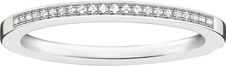 Thomas Sabo Infinity sterling silver and diamond band