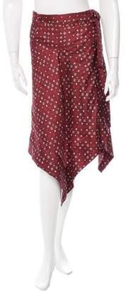Isabel Marant Treva Wrap Skirt w/ Tags