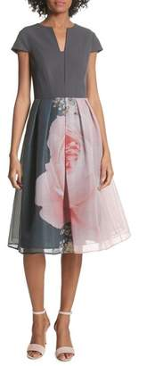 Ted Baker Noura Midi Dress