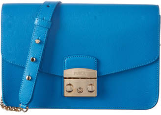 Furla Metropolis Leather Shoulder Bag