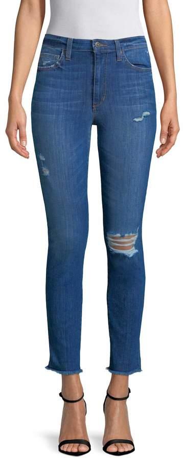Women's Charlie Ankle Fray Hem Jeans